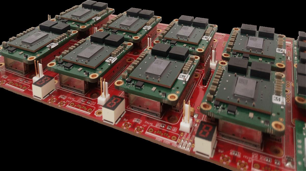 برد کلاستر FPGA